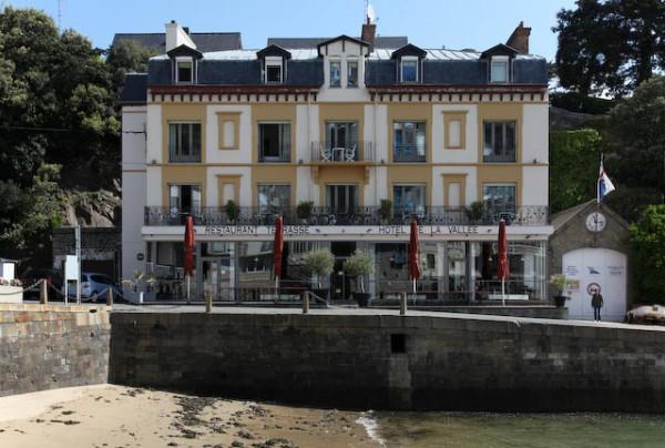 Architecture balnéaire à Dinard sur la Côte d'émeraude