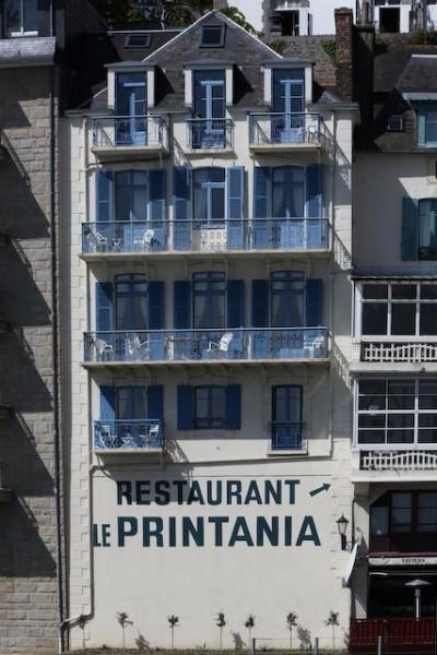 Architecture balnéaire à Dinard en Bretagne