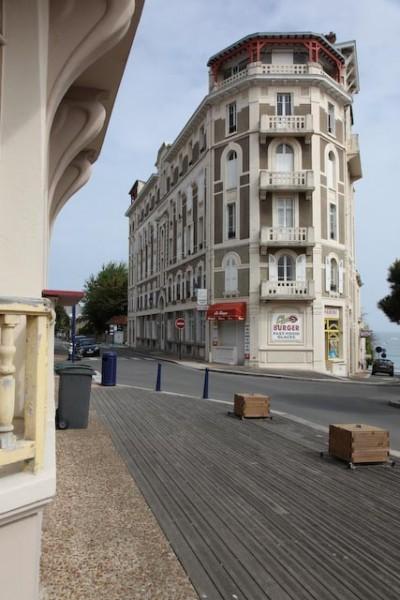 Architecture balnéaire à Saint-Lunaire sur le côte d'émeraude