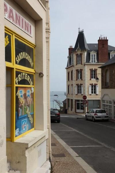 Architecture balnéaire à Saint Lunaire en Bretagne