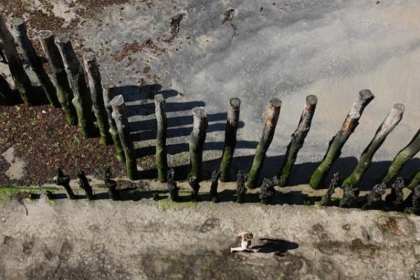 Sur la plage de Saint-Malo - Photo Charles GUY