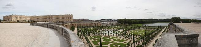 Photo panoramique de Charles Guy - L'Orangerie du Château de Versailles