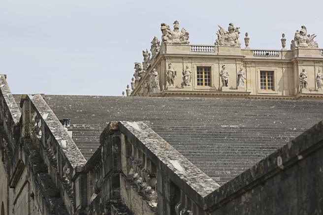 Escalier des 100 marches - Château de Versailles - Photo Charles GUY