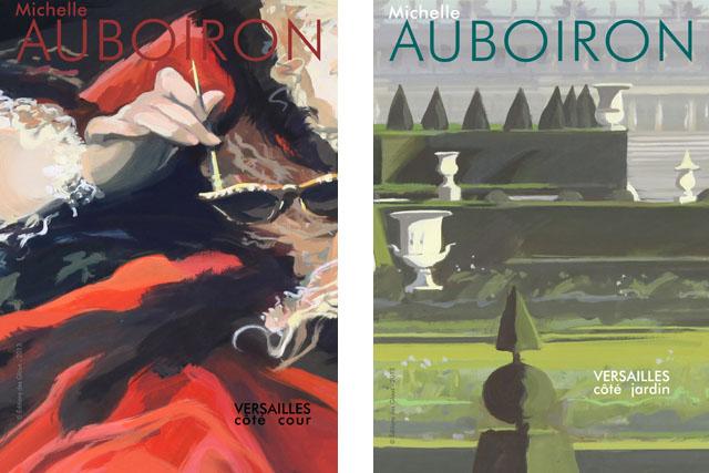 """Couvertute du catalogue de l'exposition """"Ma vie de Château"""" de Michelle Auboiron"""